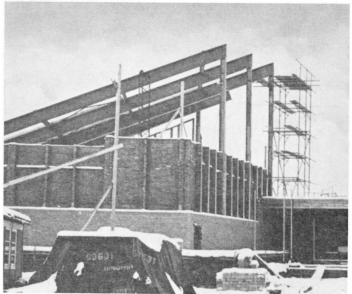 Nieuwbouw Gereformeerde Kerk 1968