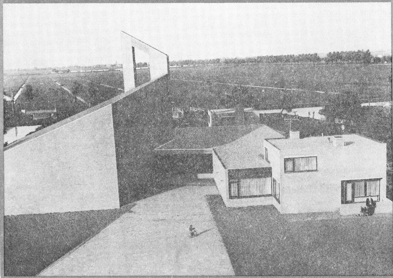 Nieuwbouw Gereformeerde Kerk 1969